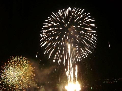 開港祭の花火