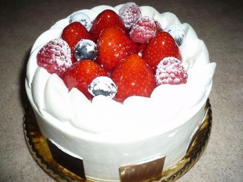 リッツカールトンのショートケーキ